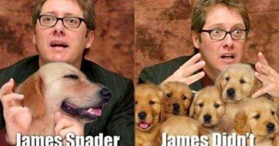 James Spader James Didn't