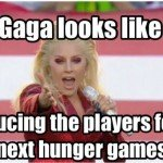 Lady Gaga Super Bowl Hunger Games Meme