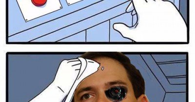 Marco Rubio dispel rumor button meme