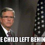 One Child Left Behind Jeb Meme