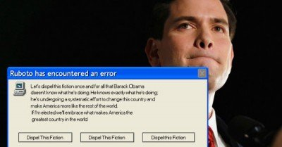 Marco Rubio meme – Ruboto has encountered an error