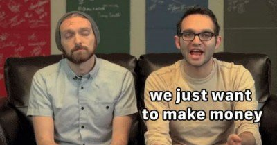 The Fine Bros eyeroll – gif