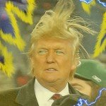 Trump Super Saiyan Meme