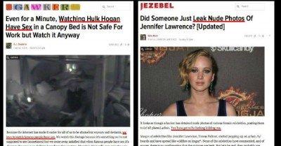 Gawker Media on Men vs Women