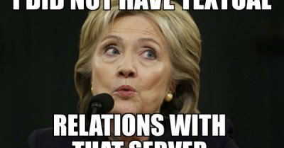 I did not have textual relations with that server