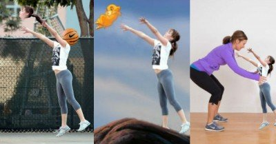 Jennifer Lawrence Playing Basketball Photoshops – 10 pics