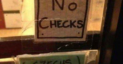 No checks Czechs welcome