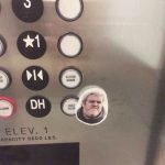 Hodor Hold The Door Elevator Sticker – Meme
