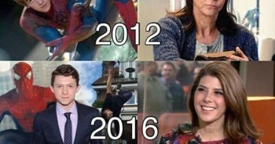 Natural Spiderman Aunt May age progression