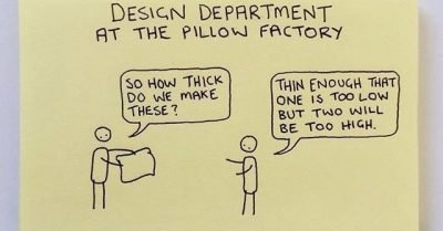 Design department at the pillow factory