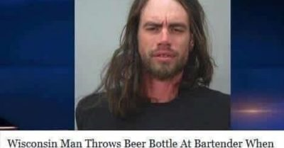Wisconsin man throws beer at bartender when she changes Black Sabbath to Christmas Music