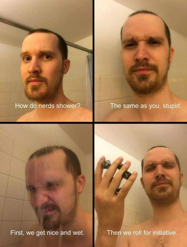 how-nerds-shower-meme