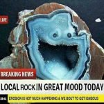 Local Rock In Great Mood Today