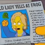 Hillary Clinton Pepe Meme – Old Lady Yells At Frog