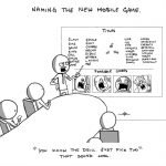 Naming The New Mobile Game – Comic