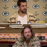 Aaron Rogers Big Lebowski Dude Sweater